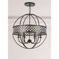 Elight Design ED01606BZ Signature 6 Light 21 inch Bronze Chandelier Ceiling Light