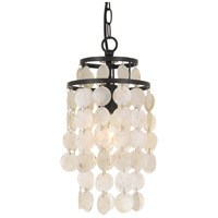 Elight Design ED02401BZ Signature 1 Light 7 inch Bronze Pendant Ceiling Light
