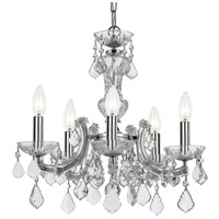 Elight Design ED03705CH Signature 5 Light 20 inch Chrome Mini Chandelier Ceiling Light