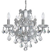 Elight Design ED03706CH Signature 6 Light 20 inch Chrome Mini Chandelier Ceiling Light