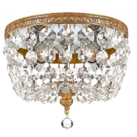 Elight Design ED045802BR Signature 2 Light 8 inch Brass Ceiling Mount Ceiling Light