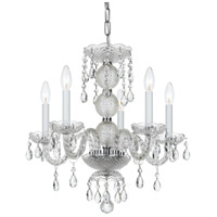 Elight Design ED077105CH Signature 5 Light 18 inch Chrome Mini Chandelier Ceiling Light