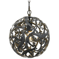 Bronze Iron Signature Chandeliers