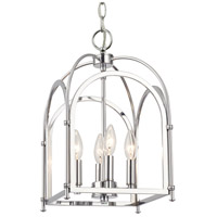 Elight Design ED444114CH Signature 4 Light 10 inch Polished Chrome Pendant Ceiling Light