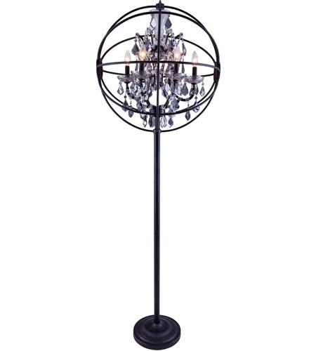 geneva 72 inch 60 watt dark bronze floor lamp portable light in silver. Black Bedroom Furniture Sets. Home Design Ideas