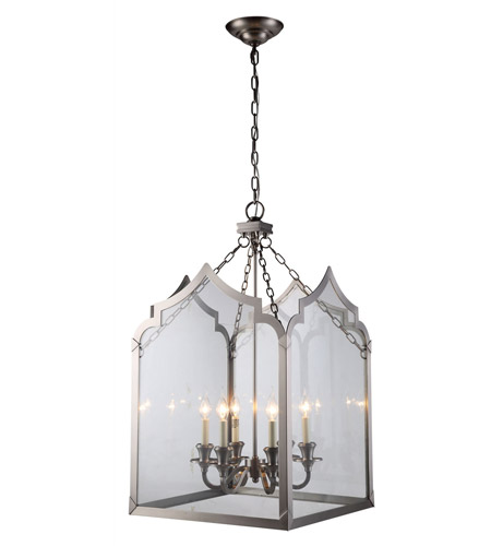 Elegant Lighting Vintage Nickel Pendants