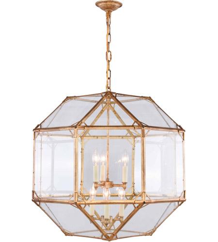 Elegant Lighting 1514d24gi Gordon 6 Light 24 Inch Golden Iron Chandelier Ceiling Light Urban Classic