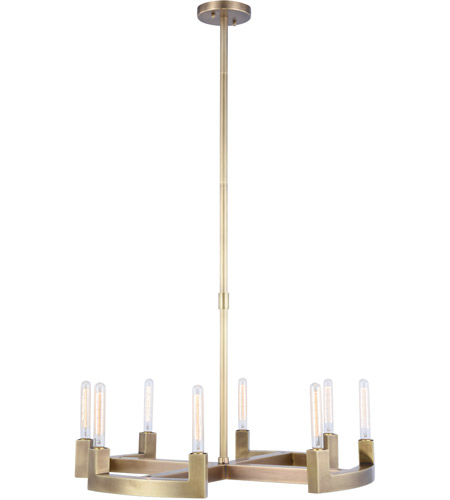 Burnished Brass Metal Chandeliers