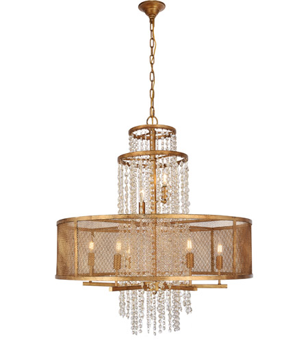 Golden Iron Legacy Chandeliers