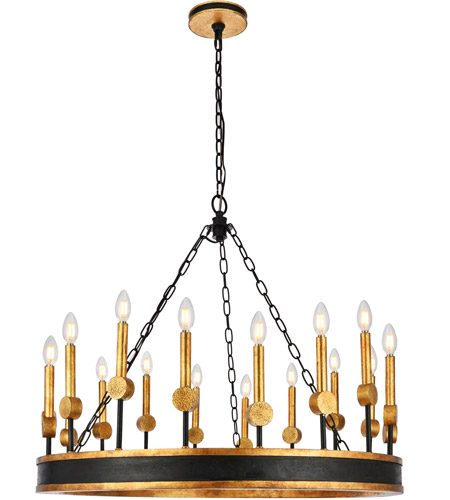 Elegant Lighting 1543D35VBGI
