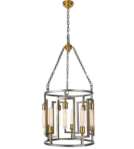 Nickel Brass Chandeliers