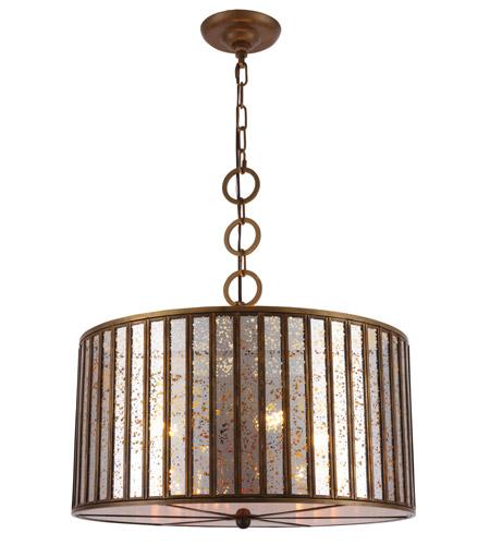 Superieur Elegant Lighting 1704D20DAB Frisco 4 Light 20 Inch Dark Antique Brass  Chandelier Ceiling Light, Urban