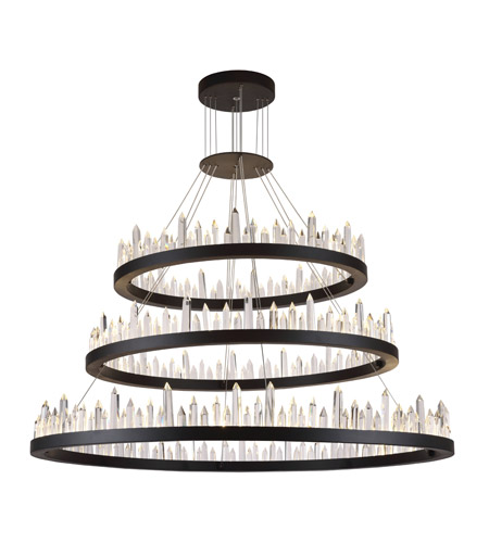 Elegant lighting 1705g3lsdg malta led 42 inch satin dark grey elegant lighting 1705g3lsdg malta led 42 inch satin dark grey chandelier ceiling light urban classic aloadofball Image collections