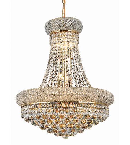 Elegant Lighting Gold Chandeliers