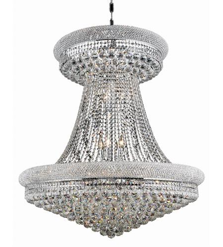Elegant Lighting V1800G36SC/SA  sc 1 st  Lighting New York & Elegant Lighting V1800G36SC/SA Primo 28 Light 36 inch Silver and ... azcodes.com