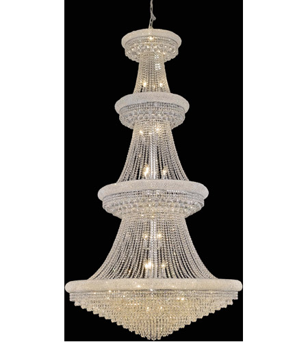 Elegant Foyer Lights : Elegant lighting primo light foyer in chrome with