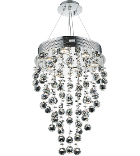 Elegant lighting v2006d16crc galaxy 7 light 16 inch chrome dining elegant lighting v2006d16crc galaxy 7 light 16 inch chrome dining chandelier ceiling light in gu10 royal cut aloadofball Choice Image