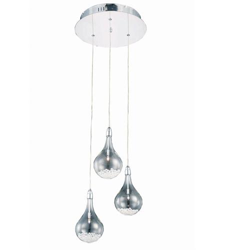 Elegant lighting 2054d3rrc edison 3 light 13 inch chrome pendant elegant lighting 2054d3rrc edison 3 light 13 inch chrome pendant ceiling light aloadofball Images