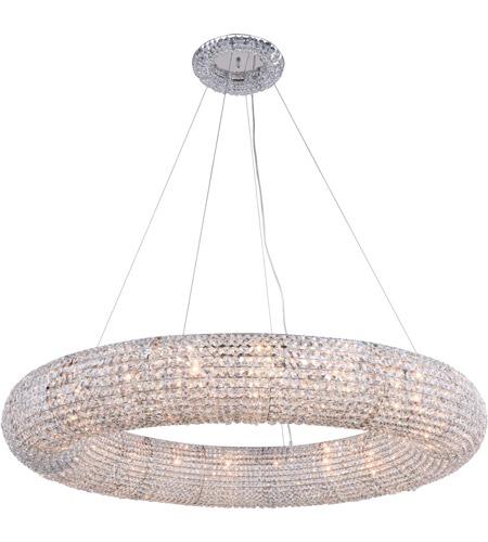 elegant lighting 2114g52c rc paris 20 light 52 inch chrome