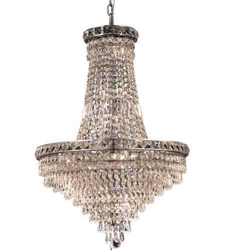 Elegant Lighting 2526D22C/RC Tranquil 22 Light 22 inch Chrome Dining Chandelier Ceiling Light in Royal Cut photo