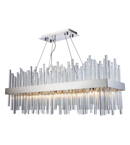 Elegant lighting 3000g36c dallas 20 light 12 inch chrome elegant lighting 3000g36c dallas 20 light 12 inch chrome chandelier ceiling light urban classic photo aloadofball Image collections