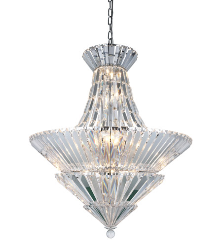 Tribeca 20 Light 30 Inch Chrome Chandelier Ceiling Urban Clic