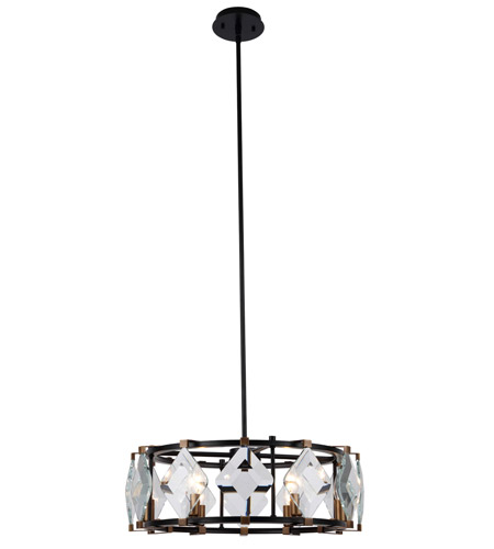 Elegant Lighting Glass Endicott Chandeliers