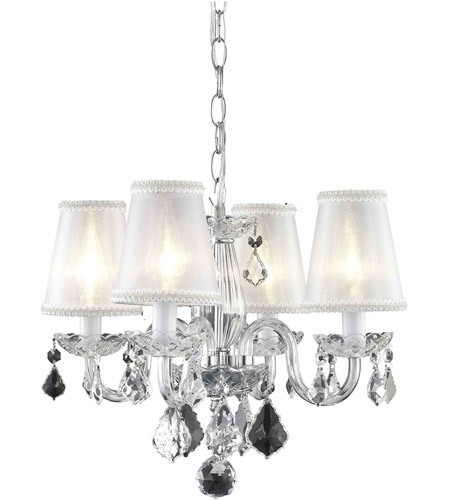 Elegant lighting 7804d15crcsh rococo 4 light 15 inch chrome elegant lighting 7804d15crcsh rococo 4 light 15 inch chrome dining chandelier ceiling light in clear silver shade mozeypictures Choice Image