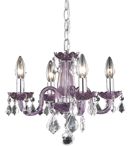 Elegant lighting v7804d15perc rococo 4 light 15 inch purple dining elegant lighting v7804d15perc rococo 4 light 15 inch purple dining chandelier ceiling light in clear none mozeypictures Gallery