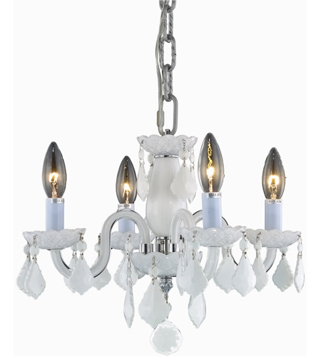 Elegant lighting v7804d15wh whrc rococo 4 light 15 inch white elegant lighting v7804d15wh whrc rococo 4 light 15 inch white dining chandelier ceiling light in none mozeypictures Gallery