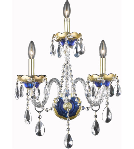 Blue Alexandria Wall Sconces