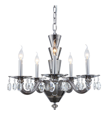 Elegant Lighting Glass Augusta Chandeliers