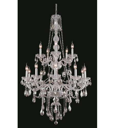 Elegant Lighting Chrome Verona Foyer Pendants