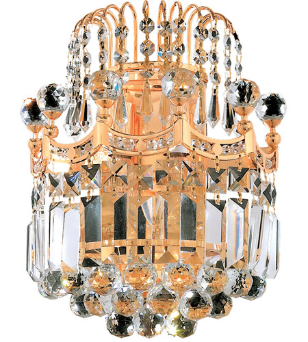 Elegant Lighting Gold Corona Wall Sconces