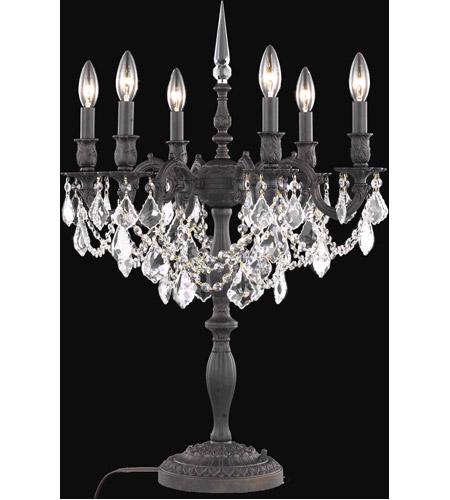 Elegant Lighting 9206tl20db Rc Rosalia 29 Inch 60 Watt Dark Bronze