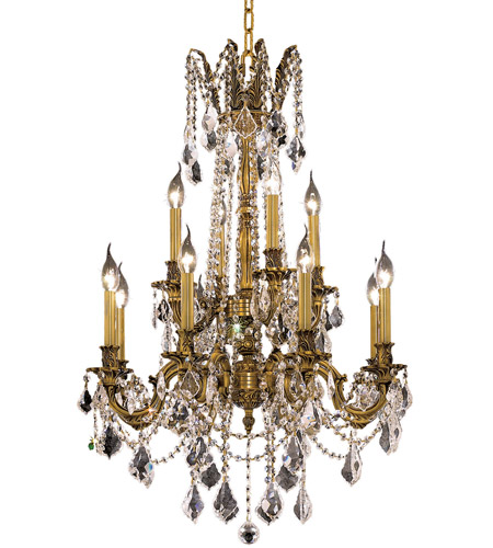 French Gold Rosalia Chandeliers