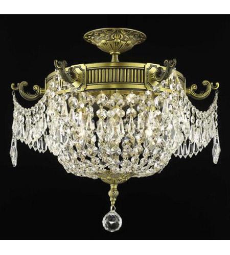 Elegant Lighting 9306F18ABRC Esperanza 6 Light 19 inch Antique