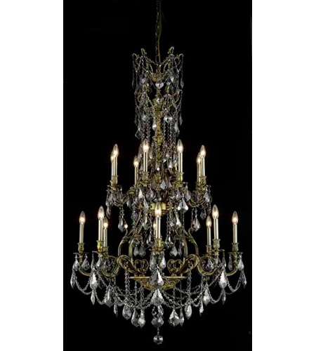 Elegant Foyer Lights : Elegant lighting monarch light foyer in antique bronze