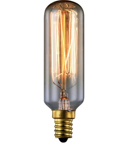 Elegant Lighting E12 Nos40 T6 Th Nostalgic Candelabra 40 Watt 120 2100k Bulb Dimmable 140 Lumens 100 Cri