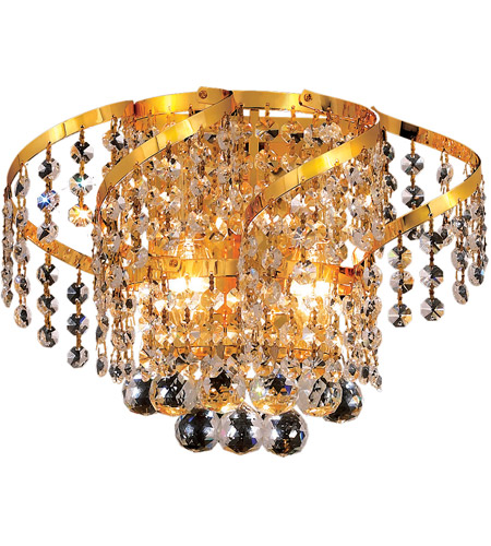 Elegant Lighting Gold Belenus Wall Sconces