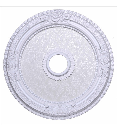 White Ceiling Medallion Lighting Accessories