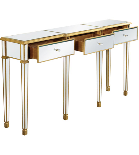 Elegant lighting mf1 4004gc florentine 70 x 15 inch gold for 70 inch console table