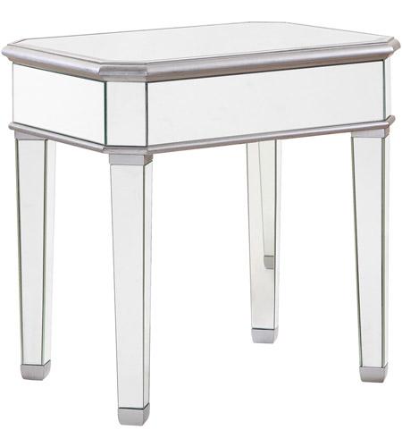 Elegant lighting mf6 1014s chamberlan 26 x 26 inch silver lamp table elegant lighting mf6 1014s chamberlan 26 x 26 inch silver lamp table clear mirror aloadofball Gallery