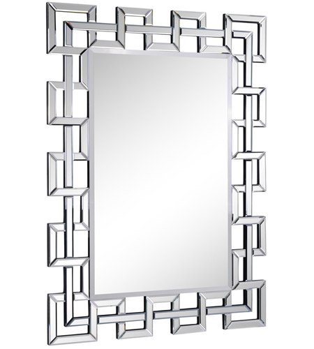 Modern 36 X 48 Inch Clear Mirror Wall
