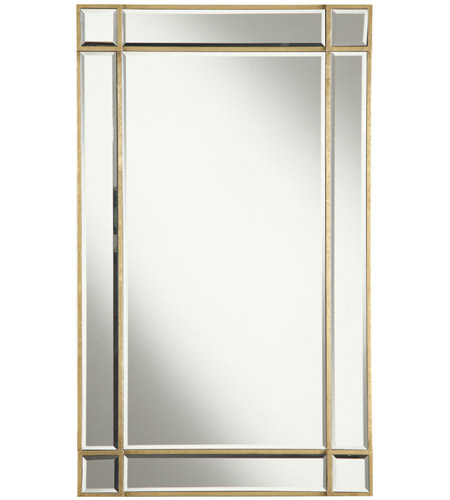 Elegant Lighting Mr1 1001gc Florentine 36 X 22 Inch Gold And Clear Mirror Wall Mirror
