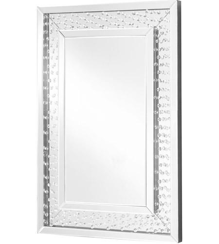 Elegant Lighting Mr9101 Sparkle 36 X 24 Inch Clear Wall Mirror Home