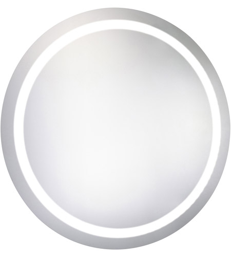 Elegant Lighting Glossy White Nova Mirrors