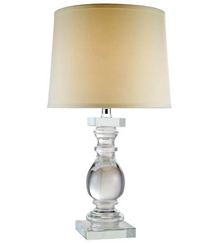 Elegant Lighting Tl1007 Regina 28 Inch 40 Watt Chrome Table Lamp Portable Light Urban Classic