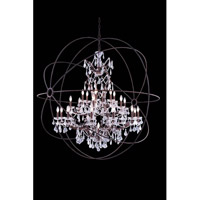 Geneva 25 Light 60 inch Rustic Intent Pendant Ceiling Light in Clear