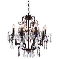 Charlotte 8 Light 26 inch Antique Bronze Pendant Ceiling Light